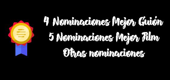 5 nominaciones